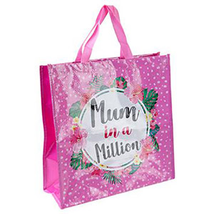 Mum in a Million Reusable Shopping Bag