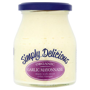 Simply Delicious Organic Garlic Mayonnaise