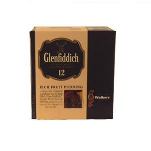 Walkers Glenfiddich Christmas Pudding