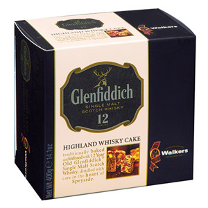 Walkers Glenfiddich Highland Whisky Cake Small