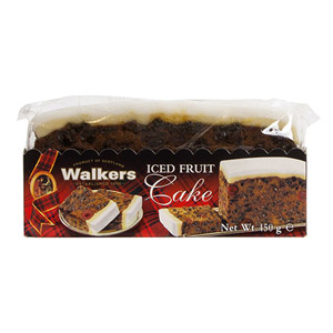 Walkers Iced Rich Slab Cake
