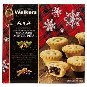 Walkers Luxury Miniature Mincemeat Tarts