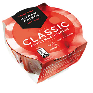 Matthew Walker Classic Christmas Pudding Small