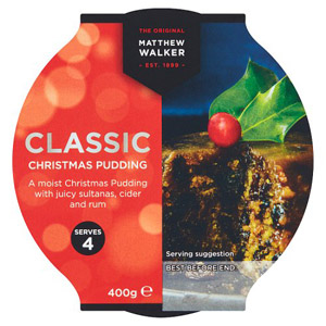 Matthew Walker Classic Christmas Pudding Medium