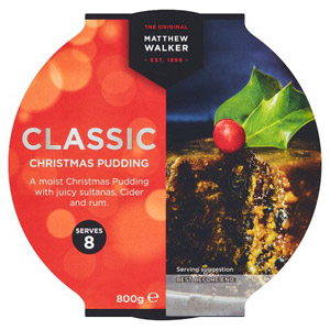 Matthew Walker Classic Christmas Pudding Large