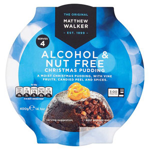 Matthew Walker Nut & Alcohol Free Christmas Pudding Large