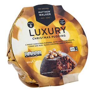 Matthew Walker Luxury Christmas Pudding Large