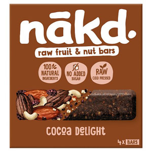 Nakd Cocoa Delight Bar 4 Pack