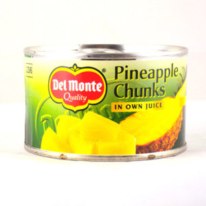 Del Monte Pineapple Chunks In Juice Smaller Size 227g