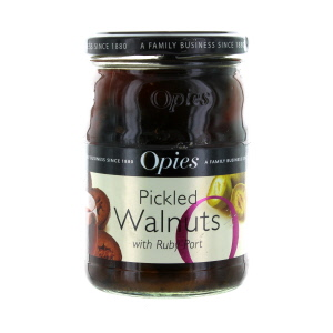 Opies Pickled Walnuts Matured in Rich Ruby Port