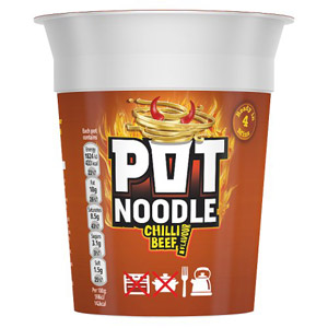 Pot Noodle Chilli Beef