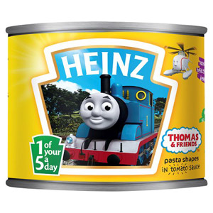 Heinz Thomas Tank Spaghetti Shapes in Tomato Sauce