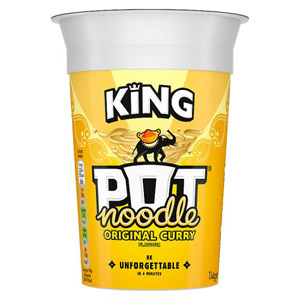 King Pot Noodle Spicy Curry