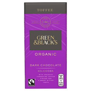 Green & Blacks Burnt Toffee Bar