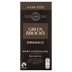 Green & Blacks Dark 85% Cocoa Bar
