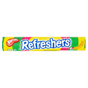 Barratt Candyland Refreshers Fruity Flavour Fizzy Sweets 34g