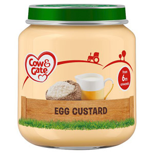 Cow & Gate 4 Month Egg Custard