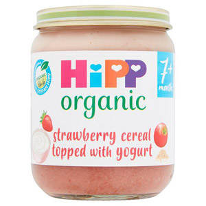 Hipp 7 Month Organic Breakfast Duet Strawberry Cereal & Yogurt