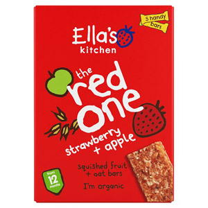 Ellas Kitchen 12 Month Strawberries & Apples Nibbly Fingers 5 Pack