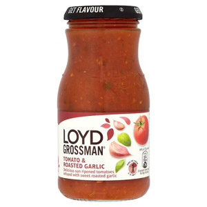 Loyd Grossman Tomato & Roasted Garlic Pasta Sauce