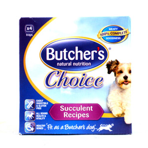 Butchers Choice Succulent Meat Variety 4 Pack 600g