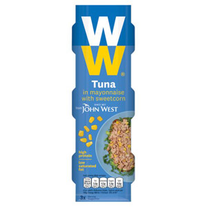 John West Weight Watchers Tuna Mayonnaise & Sweetcorn 3 Pack