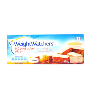 Weight Watchers 5 Pack Carrot Slices 150g
