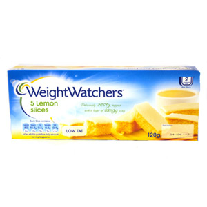 Weight Watchers Lemon Slices 5 Pack 150g