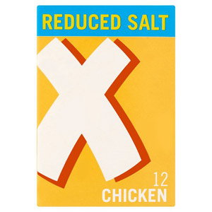 Oxo Reduced Salt Cube Chicken 12 Pack