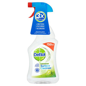 Dettol Surface Cleanser Lime & Mint