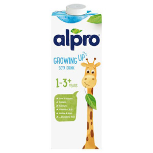 Alpro Junior 1+ Soya Milk Alternative