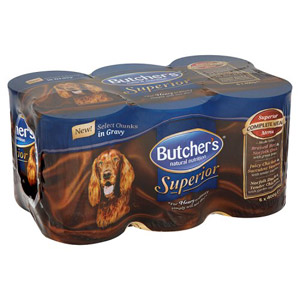 Butchers Superior In Gravy 6 Pack