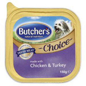 Butchers Choice Chicken & Turkey 150g