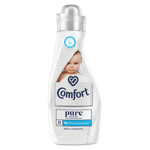 Comfort Concentrated Fabric Conditioner Pure