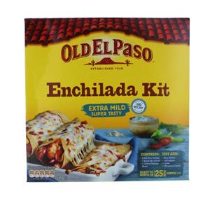 old el paso enchilada kit instructions
