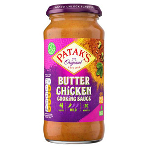 Pataks Butter Chicken Cooking Sauce