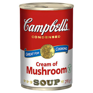Campbells Condensed Soup Cream Of Mushroom