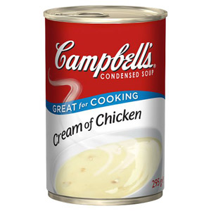 Campbells Condensed Soup Cream Of Chicken