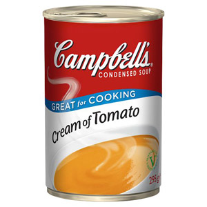 Campbells Condensed Soup Cream Of Tomato