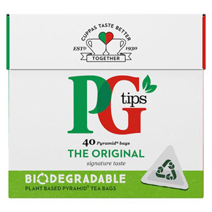 PG Tips Pyramid 40 Teabags