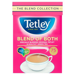 Tetley Blend Of Both 75 Pack