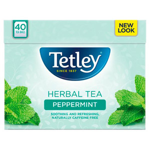Tetley Peppermint 40 Teabags