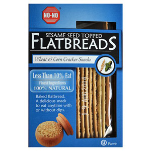 No No Low Fat Sesame Seed Wheat & Corn Flat Breads