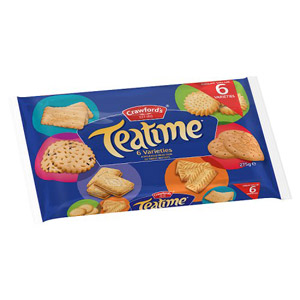 Crawfords Teatime Assortment Biscuits 275g