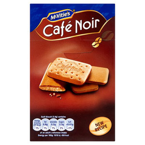 McVities Cafe Noir Biscuits