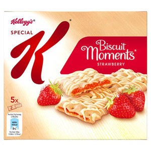 Kelloggs Special K Biscuit Moments Strawberry
