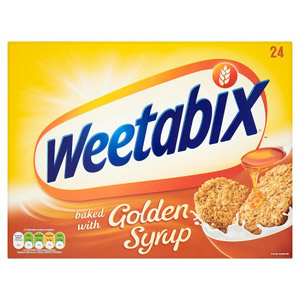 Weetabix Golden Syrup 24s