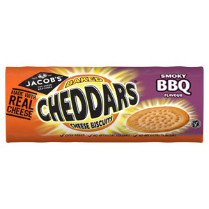 Jacobs Cheddars Bacon
