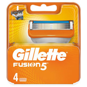 Gillette Fusion Cartridges 4s