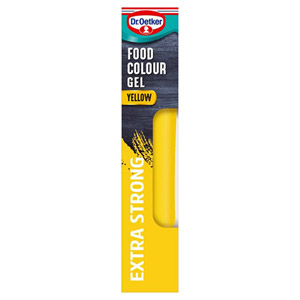 Dr. Oetker Extra Strong Food Colour Gel Sunshine Yellow